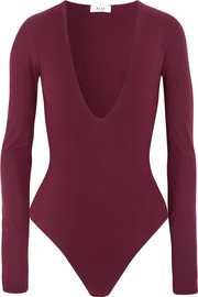 Alix Irving stretch-jersey bodysuit