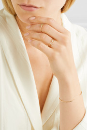 Jennie Kwon Designs Buckle 14-karat gold diamond ring