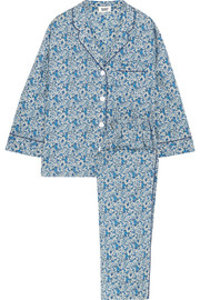 Marina floral-print cotton pajama set