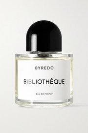 Bibliothèque Eau de Parfum - Juniper Berries, Orris, Violet, Leather & Patchouli, 100ml