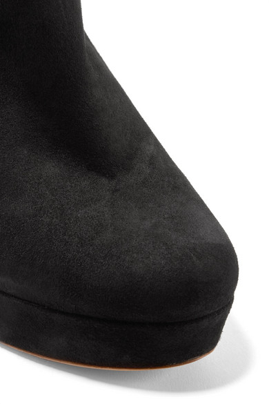 Mansur Gavriel Ankle Boots aus Veloursleder