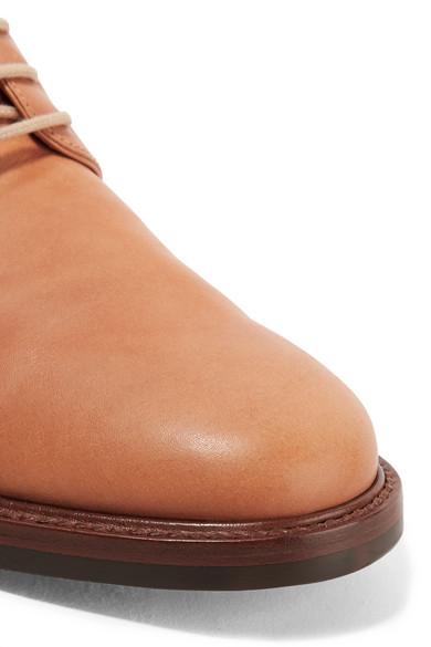 Leather Brogues - Camel Mansur Gavriel 7Twgk