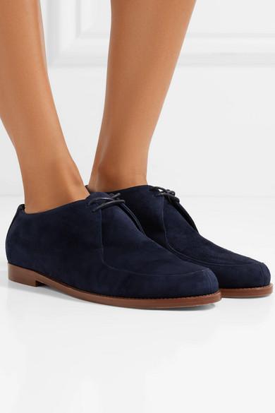 Mansur Gavriel Oxford-Schuhe aus Veloursleder