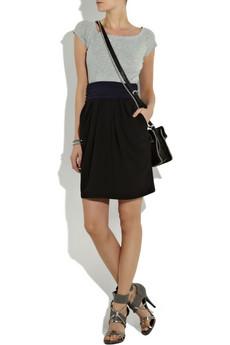 DKNYTri-color cotton dress