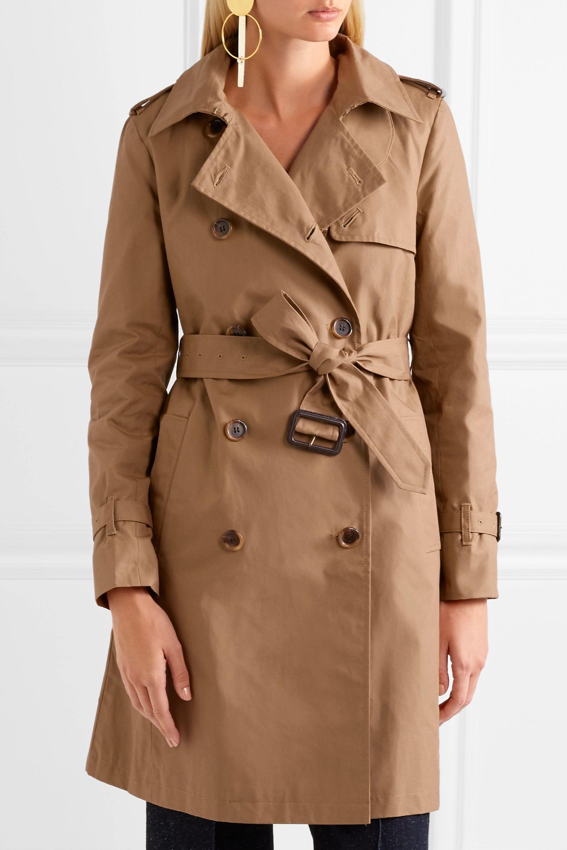 J.Crew Cotton-canvas trench coat