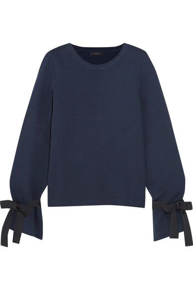 J.Crew - Cotton-blend Jersey Sweatshirt - Navy