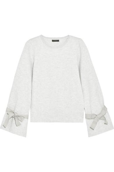 J.Crew - Cotton-blend Jersey Sweatshirt - Light gray