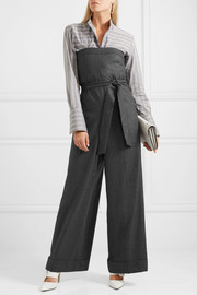 J.Crew Draft strapless wool jumpsuit