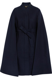 Beverly wool-blend cape