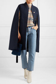 J.Crew Beverly wool-blend cape
