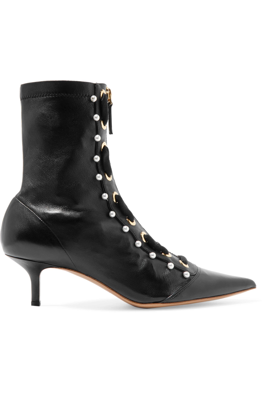 Altuzarra Elliot embellished leather ankle boots