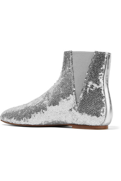 Bottines à sequinsLoewe 6Q8GHewMes