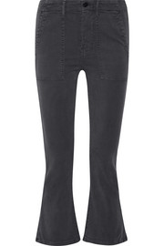 The Army Nerd cropped stretch-twill skinny pants