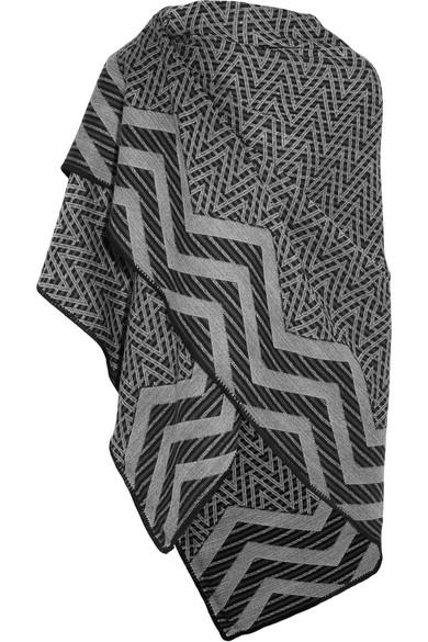 Missoni - Metallic Wool Poncho - Gray