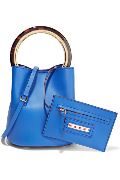 Marni Pannier Bag Mini Bag Of Leather