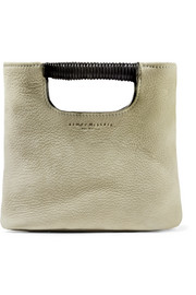 Birch mini nubuck tote