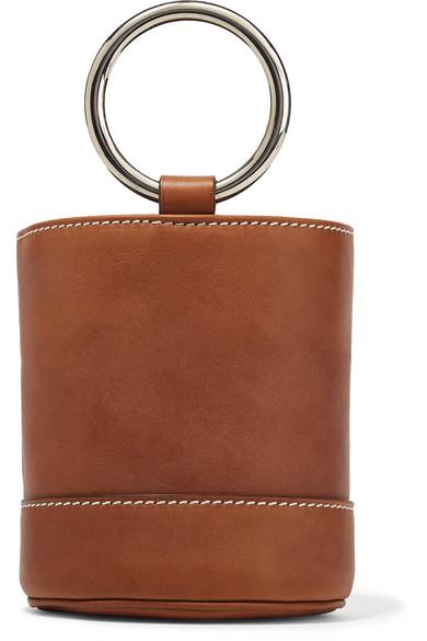 9d4899d1336 SIMON MILLER | Bonsai 15 mini leather bucket bag | NET-A-PORTER.COM