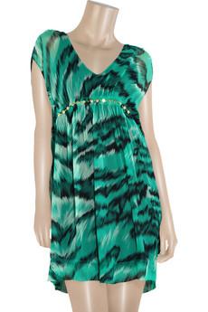 Diane von FurstenbergCrinkle printed dress