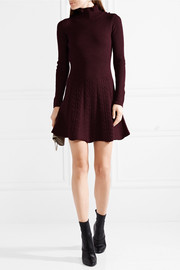 See by Chloé Wool turtleneck mini dress