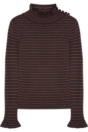 See by Chloé Striped wool sweater