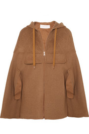 See by Chloé Hooded wool-blend cape