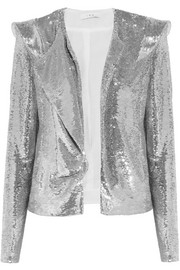 IRO Waklyn sequined twill jacket