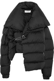 Marques' Almeida Asymmetric quilted shell down jacket