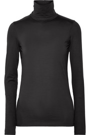 Jil Sander Stretch-cotton turtleneck top