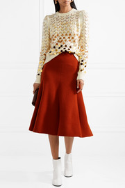 Marc Jacobs Sequin-embellished wool and cashmere-blend sweater