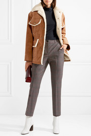 Marc Jacobs Faux shearling-lined cotton-corduroy jacket