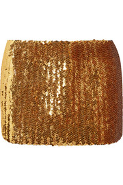 Marc Jacobs Sequined wool mini skirt