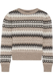 Marc Jacobs Fair Isle wool sweater