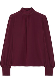 Marc Jacobs Silk crepe de chine blouse