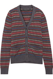 Marc Jacobs Wool-jacquard cardigan