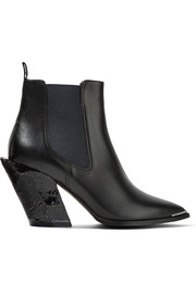 Jemina leather ankle boots