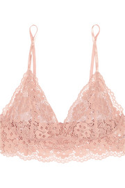 Hanky Panky Sophia stretch-corded lace soft-cup triangle bra