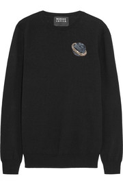 Markus Lupfer Natalie embellished wool sweater