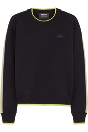 Markus Lupfer Danielle appliquéd wool sweater