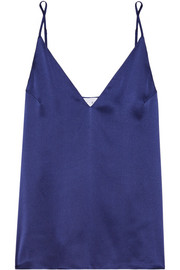 The Olivia silk-charmeuse camisole