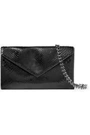 Alaïa Envelope python shoulder bag