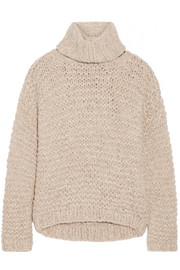 Nepenthe convertible alpaca-blend sweater
