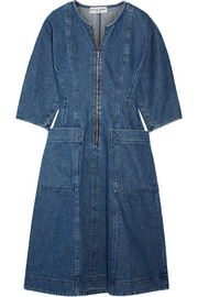 APIECE APART Fernwood denim midi dress