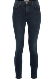 Current/Elliott The Super High Waist Stiletto skinny jeans