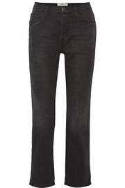 Current/Elliott The Original Straight high-rise jeans