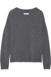 Current/Elliott The Destroyed Knit wool and cashmere-blend sweater
