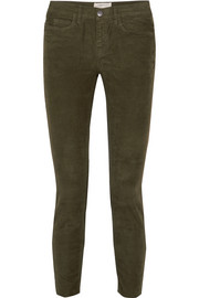Current/Elliott The Stiletto corduroy skinny pants