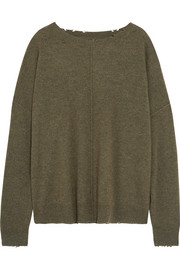 Current/Elliott The Destroyed wool and cashmere sweater
