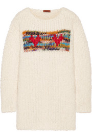 Missoni Intarsia chunky-knit sweater