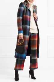 Missoni Checked mohair-blend coat