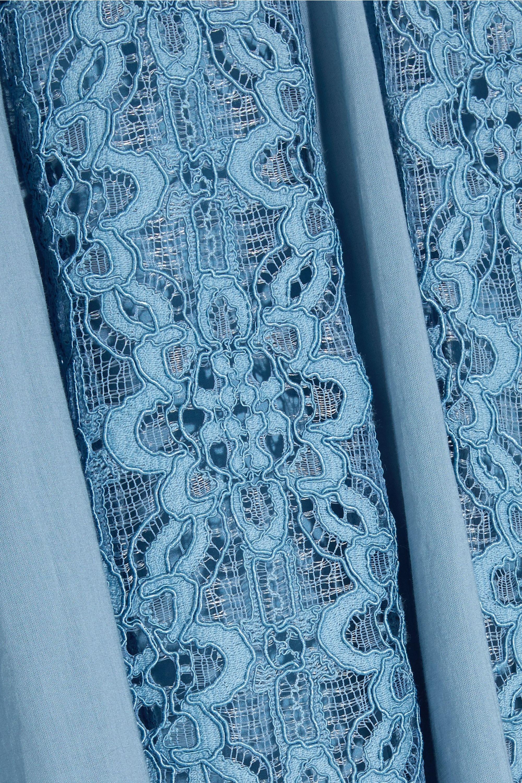 Temperley London Eclipse corded lace midi dress
